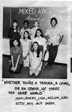 Got to love multiculturalism of Hawai'i.  Even as a child, he knew how to get along with others - Buzzfeed - 29 Photos Of Baby Barack Obama