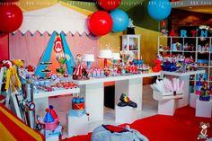 Decoração de tudo um pouco : Festa Circo- 3 aninhos do Meu neto Arthur