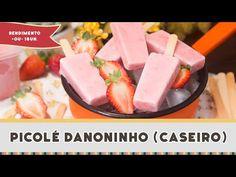 Picolé Danoninho (Caseiro) - Receitas de Minuto EXPRESS #184 - YouTube