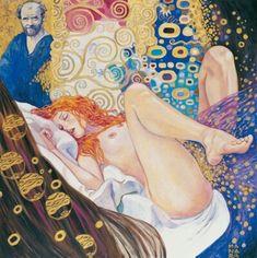 ingenuecloud:   Ecstasy // Gustav Klimt's women - Banshee in a siren's disguise