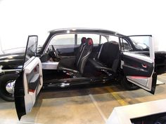 2007 French made concept car Tatra Faurecia, based on the Czech made Tatra 603 #FaureciaPin-spiration - love the doors