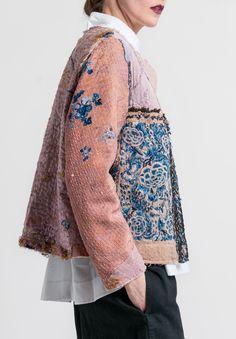 By Walid Custom Silk Waist Jacket