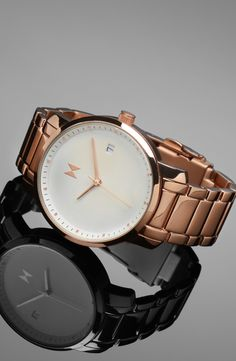 White Rose Gold with subtle, high-quality crafting, and beautiful colors that will shimmer under the evening lights or the gleam of a sunny day. Bring this home, or any of the other watches in our women's collection, with free worldwide shipping from mvmtwatches.com