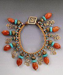 by Joan Babcock Micro-Macrame Jewelry ePattern http://www.micro-macramejewelry.com/