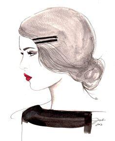 Imprimer à partir d'illustration mode par JessicaIllustration
