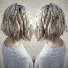 Image result for ash blonde bob