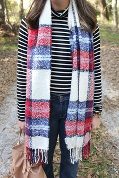Stripes and Plaid via With Style and a Little Grace
