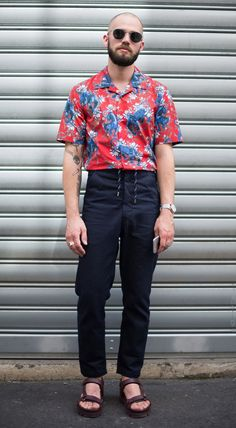 Aloha Hawaiian Outfits And Shirts For Summer and Spring Break for Men