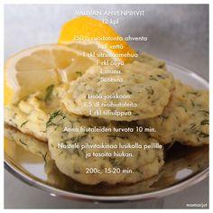 Vauvan ahvenpihvit Beef Caldereta, Baby Food Recipes, Finger Foods, Mashed Potatoes, Ethnic Recipes, Babys, Food Ideas, Baby Shower, Kids