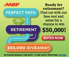 AARP Sweep AARP Retirement Sweepstakes and Instant Win Game