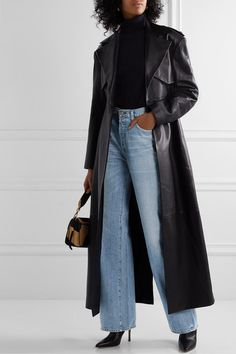 Citizens of Humanity - Annina high-rise wide-leg jeans Look Fashion, Korean Fashion, Winter Fashion, Fashion Outfits, Trendy Fashion, Classy Outfits, Casual Outfits, Cute Outfits, Mode Simple