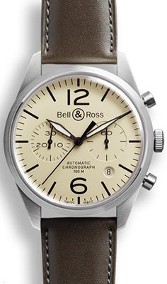 Bell and Ross Vintage BR126VintageOrignalCream - Don't know what it is about Bell & Riss watches but they really get my shorts in a knot.