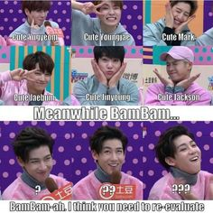 Bambam best crazy face