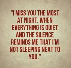 Missing husband quote