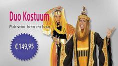 Toppers Duo Kostuum - Een pak voor man en vrouw