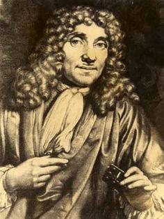 Persoon: Anthonie van Leeuwenhoek (1632-1723) is geboren in Delft. Hij was een handelaar, microbioloog, landmeter, wijnroeier en gasblazer. Anthonie had met behulp van een microscoop de micro-organismen ontdekt. Anthonie moest harde bewijzen hebben, hij nam niet zomaar iets aan, net zoals René Descartes. Anthonie redeneerde dus wat betekent dat hij een gedachtegang ontwikkelde en volgde.