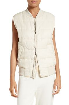 ad2769b64c Free shipping and returns on Vince Quilted Bomber Vest at Nordstrom.com. Pre -