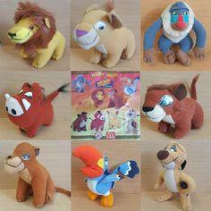 McDonalds Happy Meal Toy 1998 Walt Disney LION KING Plush Character - VARIOUS   | eBay
