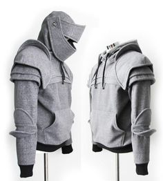 Spicytec: Awesome Knight Armor Hoodies