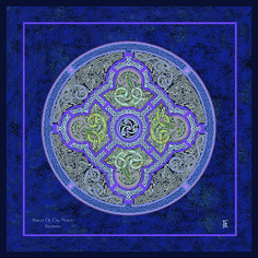 Irish Celtic, Celtic Art, Celtic Shield, Types Of Blue, Labyrinths, Art Base, Spirals, Pilgrimage, Sacred Geometry