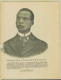 "Taylor, an African American Baptist minister and a prominent Republican, uses both ""science"" and the Bible to explore the creation and structure of the earth and to locate a possible Hell in earth's molten interior. Structure Of The Earth, African American Genealogy, Library Of Congress, Black History, Baltimore, Division, Perspective, Printer, Bible"