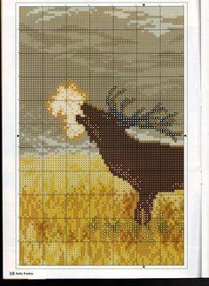 elk cross stitch