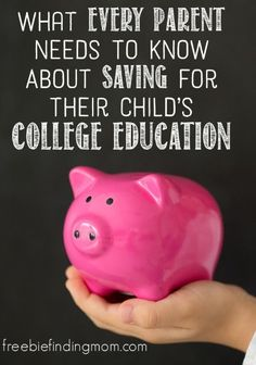 What Every Parent Needs to Know About Saving for Their Child's College Education - Saving for college for your child can be intimidating and confusing, but this article breaks down the best investment options for parents to consider and provides the necessary tools to set them on the right path. Budget, Budgeting Tips, #budget