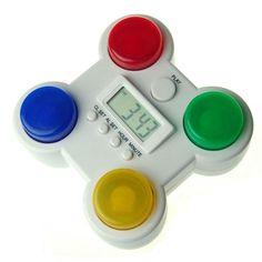 Memory Game Alarm Clock  haha, nice.