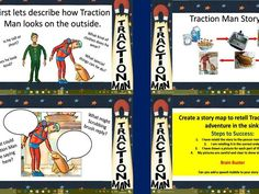 10 lessons of planning with slides to match each lesson.<br /> Includes differentiated templates needed for each lesson too. All you need is a camera, and an old action man doll you can pass off as Traction Man...