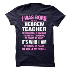 #administrators... Nice T-shirts (Best Price) Proud Be A Hebrew Teacher . EngineerTshirts  Design Description:   If you do not absolutely love this design, you will SEARCH your favourite one by means of search bar on the header.....  Check more at http://engineertshirts.xyz/automotive/best-price-proud-be-a-hebrew-teacher-engineertshirts.html