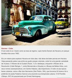 Lugares mais bonitos// mochilão // Cuba  // destination