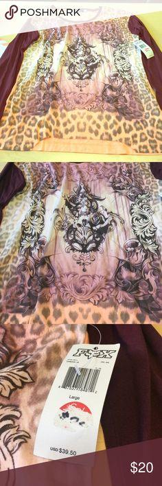 Fox Long sleeve shirt Brand new FOX long sleeve shirt Fox Tops Tees - Long Sleeve