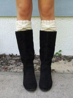 Boots with Crotchet Socks.