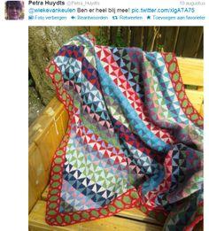 Pinwheel scarf 9