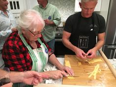 A new kind of #party. We prepare and eat together fresh #handmade #Pasta #fromscratch at #SanDiego County #California.