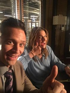 Seamus Dever and Stana Katic - behind the scenes of Castle. Castle Tv Series, Castle Tv Shows, Bts Behind The Scene, Behind The Scenes, Seamus Dever, Richard Castle, Castle Beckett, Favorite Tv Shows, My Favorite Things