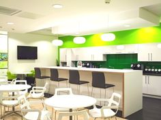 QlikTech Office, England - http://www.adelto.co.uk/contemporary-office-design-qliktech-england