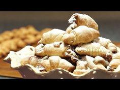Рецепт - Ореховые рогалики от http://videoculinary.ru Бабушка Эмма - YouTube