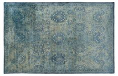 Vialas Rug, Green/Blue Now: $699.00    Was: $819.00