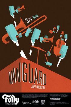 jazz poster design
