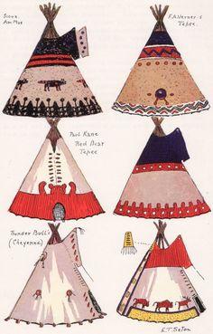 Tipi designs