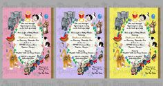 Little Golden Book Baby Shower Invitation by AuntBsCreativeDesign