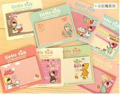 1PC Kawaii cartoon girl design Memo Pads,funny decoration sticky note(ss-1201)