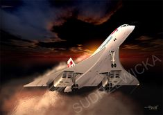 While not military, Concorde remains the most iconic commercial aircraft ever designed. (www.sudrzewicka.com).