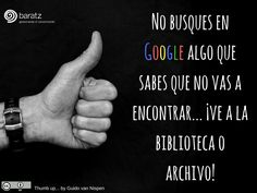 No busques en Google