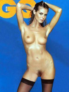 Heidi klum hot nude in standing position