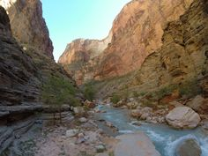 2014 Hatch Expedition rafting Colorado River thru Grand Canyon - side creek