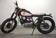 Yamaha SR 250 Classic (1983) by CRD    ♠ http://milchapitas-kustombikes.blogspot.com/ ♠
