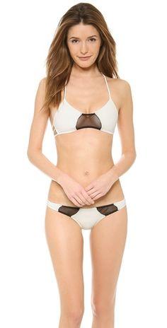Tyler Rose Swimwear Bruce Halter Bikini Top | SHOPBOP $65.50