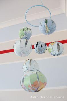 nest design studio - baby nursery - around the world with charles